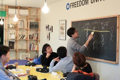 自由大学での写真講座・3期目を開講いたしました。
